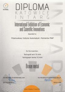2016 Brązowy Medal INTARG TC-XXX