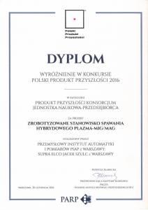 2016 Polski Produkt Przyszłości 2016 RobWeld