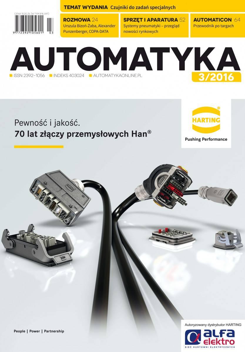 Okładka Automatyka 3/2016
