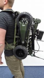 Robot PIAP Balsa na stelażu plecakowym (fot. PIAP)