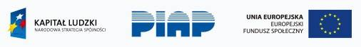 logotypy POKL PIAP UE