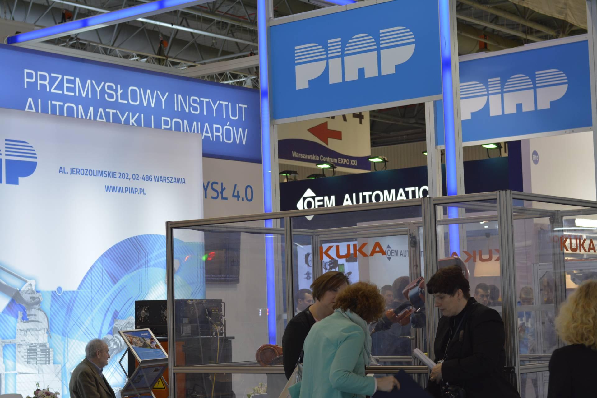 Stoisko PIAP na targach Automaticon 2017 (fot. PIAP)