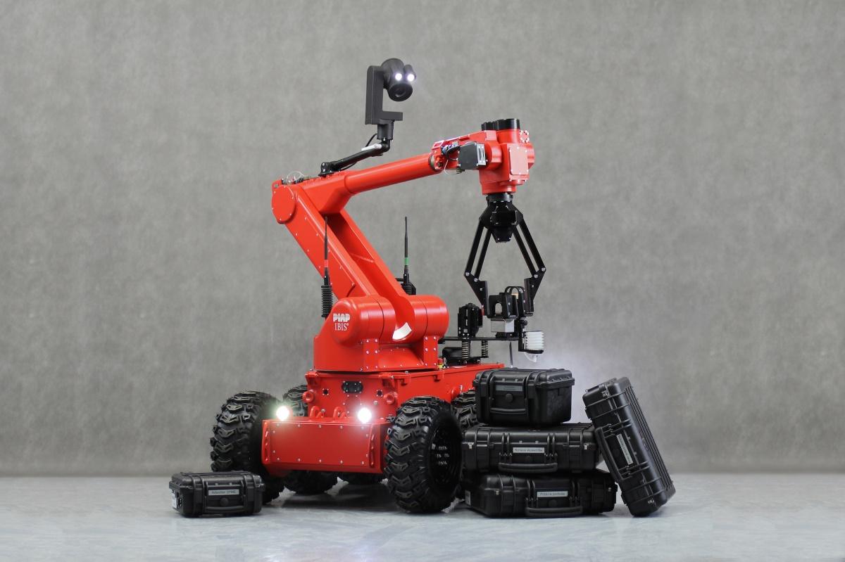 RobotStrazak-IBIS-PIAP4