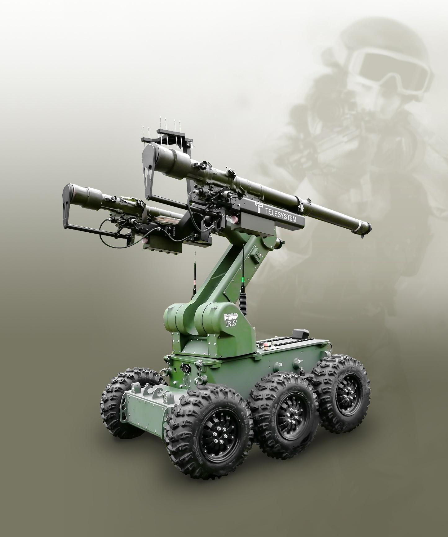 Robot IBIS wyposazony w telesystem (2)