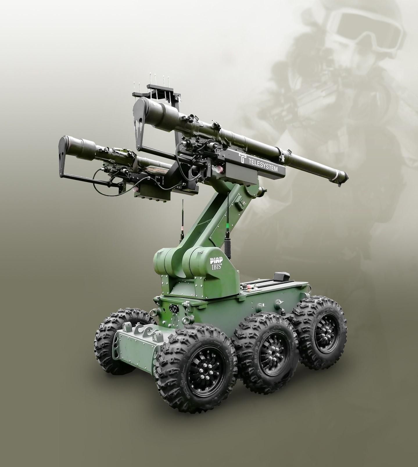 Robot IBIS wyposazony w telesystem (4)