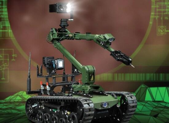 Robot Patrolowo Przenośny, model robot inżynieryjny 1806 - Patrol