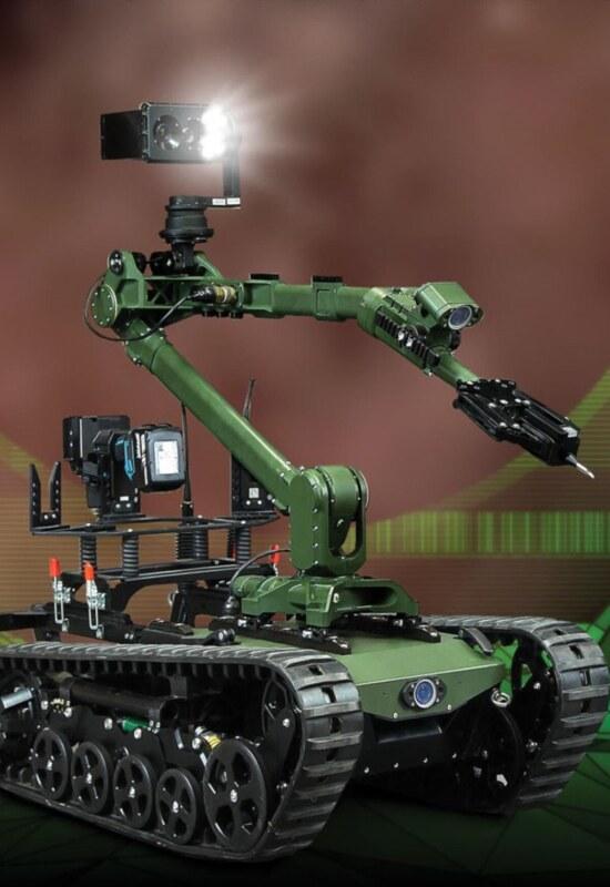 Robot Patrolowo Przenośny, model robot inżynieryjny 1806