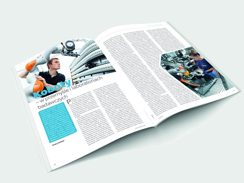 Automatyka 12.2020 artykuł o kobotach
