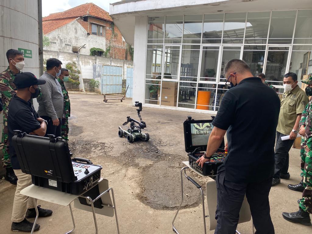 robot PIAP GRYF dla Sił Zbrojnych Indonezji