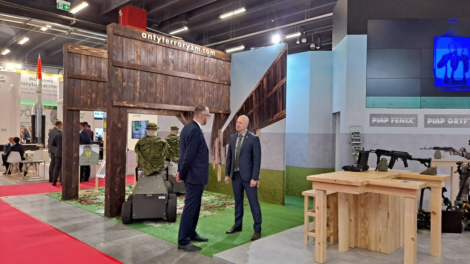 Łukasiewicz na wystawie MSPO